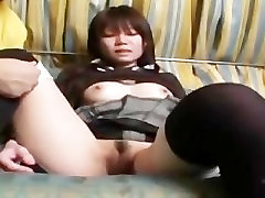 Shaved plus curvy model and Anal Nanako