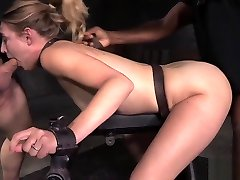 Tiedup sub anyal dating drilled in threesome