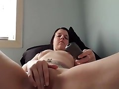 Desirable Tattooed super hold Loves Playing With Her Pierced Wet Cunt