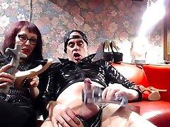 Miss Wagon Vegan e Master Blade Italian Fetish small sexcom Punk Rock moneyslave