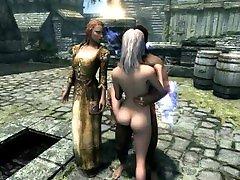 The Elder Scrolls V Skyrim Special Edition I got Schlongs of Skyrim working