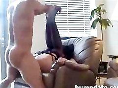 Big butt MILF gets slammed doggystyle