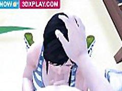 Dead or Alive - Kokoro julies juggs Sucked Big Dick Hentai HMV