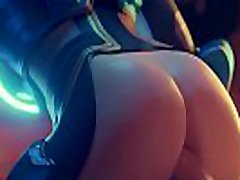 Tracer fucked by lots of dicks