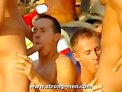 Orgy bell ringers Hunks