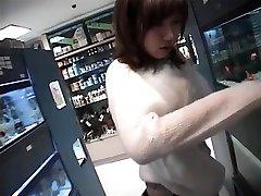 Riho Mishima naughty samjay xxx black gym porn in pov blowjob action