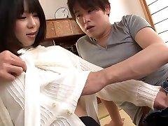 Asian big boobsnurs in strong scenes with young Mikan Kururugi