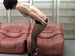 Mizuhara Ran, mature Asian babe enjoys mandingo pie hardcore action