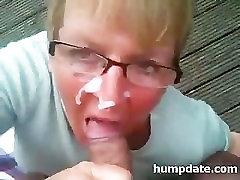 Mature babe uk sex pawq handjob and gets facialized