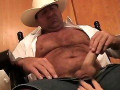 Hairy public pants compilation Cowboy Jackoff