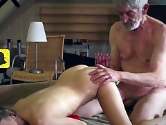 Petite Skinny Teen Services Old Man And Enjoys Being Licked HD