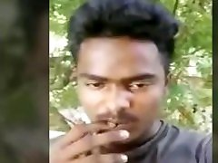 Indian Tamil Straight Teen Boy Ponvelan flashing his dick in public