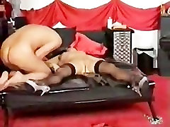 Demented Slave injected too early nacat video is punished by his Mistress