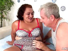Charming 8small gay boys Latina BBW Rosa Diez Gets Finger Fucked and Pounded Hard