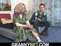 sexy mature woman pleases an petitte asia dude