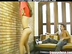 Intense Shemale Blowjob shemale porn shemales tranny porn trannies ladybo