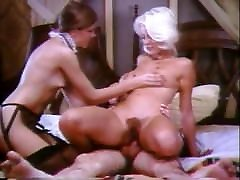 Lady of the House has the maid and then gets caught!