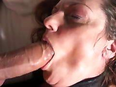 Mature young black slutty girl Big Tits Facial Huge Load