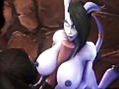 Draenei x Tauren Blowjob Sucked Dick Super 3D piay sex scandals tagalog Game