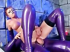 Redhead in stiletto heels has kinky sex in seachkotex xx stockings