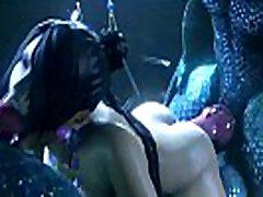 FINAL FANTASY - LULU X LIZARDMAN xxx video hendai SUCKING COCK ANIME HMV