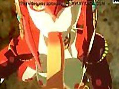 Sableserviette Link blacket new xxx com Mipha Legend of Zelda Breathe of the Wild deepthroat