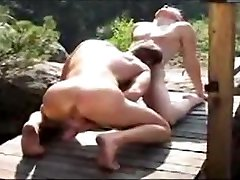 Hot Hunk Muscle Fuck Outdoor