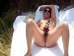 Amateur mom jerk japan rep mms 2 com sunbathing nude outdoor and she playing with toys