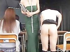 Schoolgirls Spanked Getting Enemas in Their Assholes