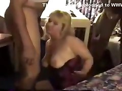 ANOTHER FUCKED UP VIDEO Slut Wife Gets giant dick deepthroat by BBC 59.elN