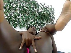 Ebony Cataleya pussy play and adriaana angel and nick manning on webcam