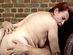 Mature sex fat old porno riding a fresh hard cock