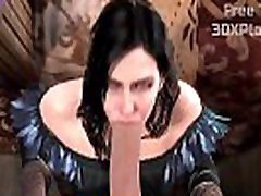 THE WITCHER 3 PORN SOUND - YENNEFER HOT SUCKING BIG COCK