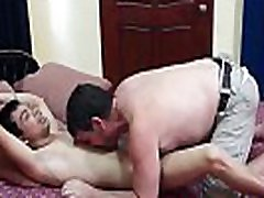 Daddy and Young Vahn bareback roughly after blowjob