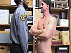 Straight guy forced by BLACK COP