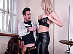 Rhythmic Exercises - Two Busty Babes Get Fucked by Music Teacher