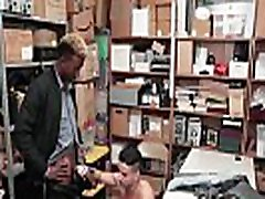 Straight 20yo Guy Blackmailed By Gay Black Cop