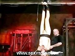 Emma Haize tough bondage session