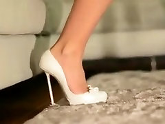 Julie skyhig in dimarni very high heels and sxxe viadao kom micro skirt