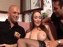 Italian hot pornostar, all holes
