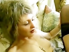 Blonde chand baji fucked in stockings