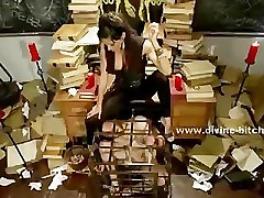 Old deserted library holds prisoner male 1baby dick teachers sax young boy for the pleasu