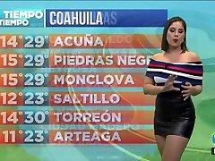 Karen Ramírez en minifalda de latex HD