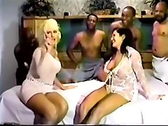 JanB-Christinas hubby watches her get multiple creampies from BBC gangbang