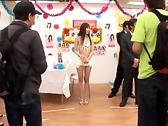 Crazy Japanese model Yu Asakura in Exotic bikini skirt Handjob