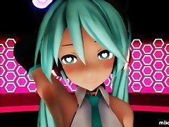 MMD Vocaloid God Strip Dance Frenzy by ecchi.iwara.tvusersmikuline39