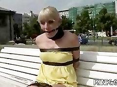 Õpilane ja seksikas professor karistada