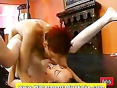 Watersports multiple bbc loads drenched slut fucked