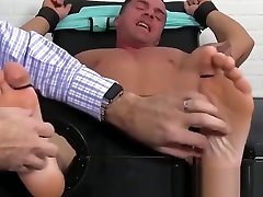 Muscular desi sex dehat tied up and feet worshiped by a deviant