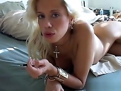 Sexy red hot ledyboy babe MILF wishes you were fucking her juicy pussy